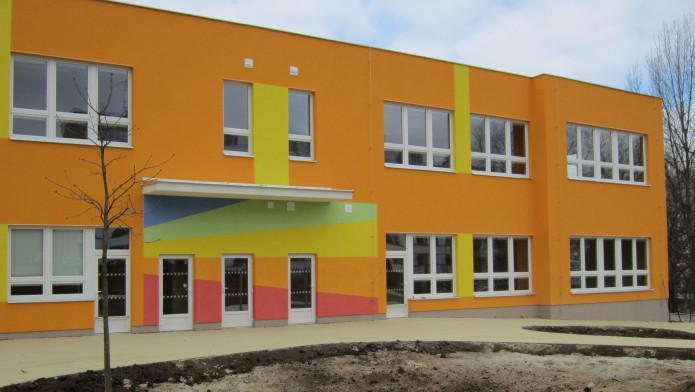 Přístavba mateřské školy Hudcova v Brně-Medlánkách