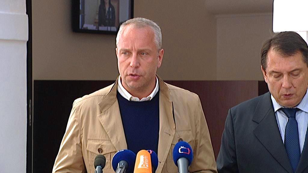 Petr Benda a Jiří Paroubek