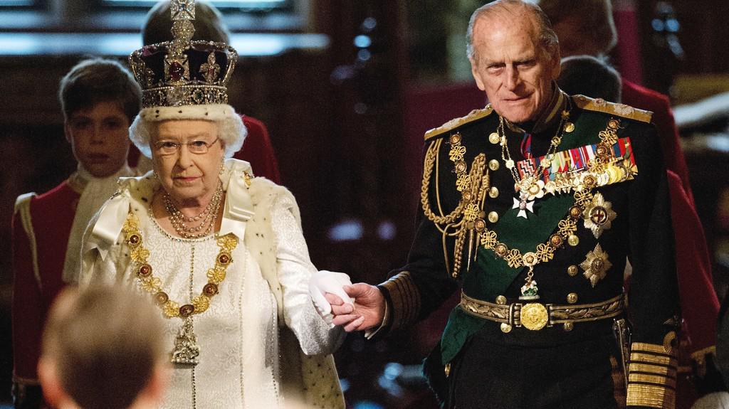 Královna Alžběta II. s manželem