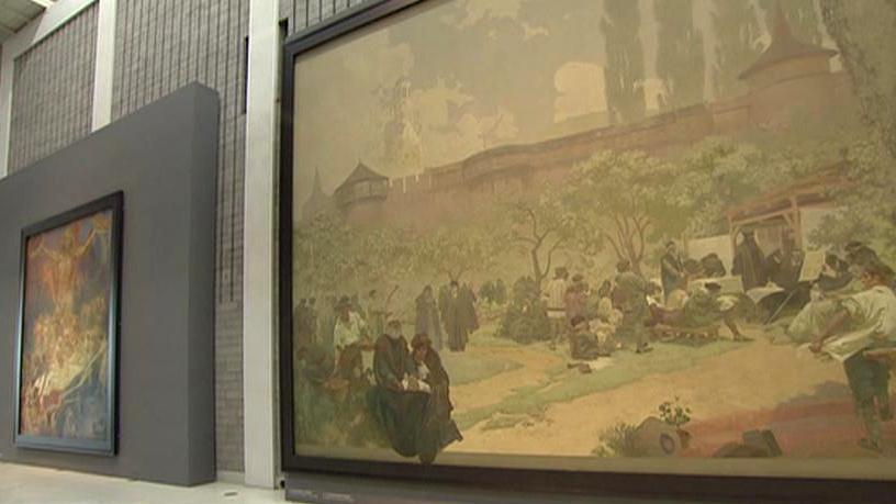 Slovanská epopej ve Veletržním paláci