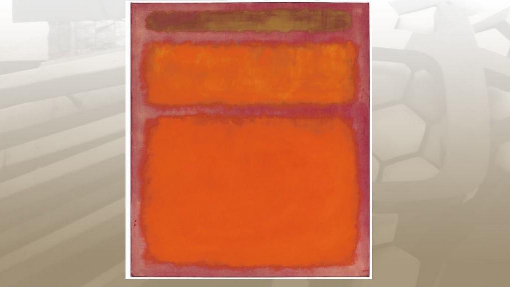 Mark Rothko / Orange, Red, Yellow