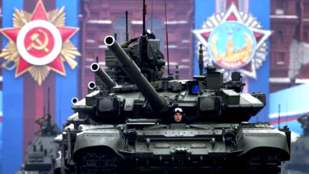 Rusko oslavuje výročí konce války