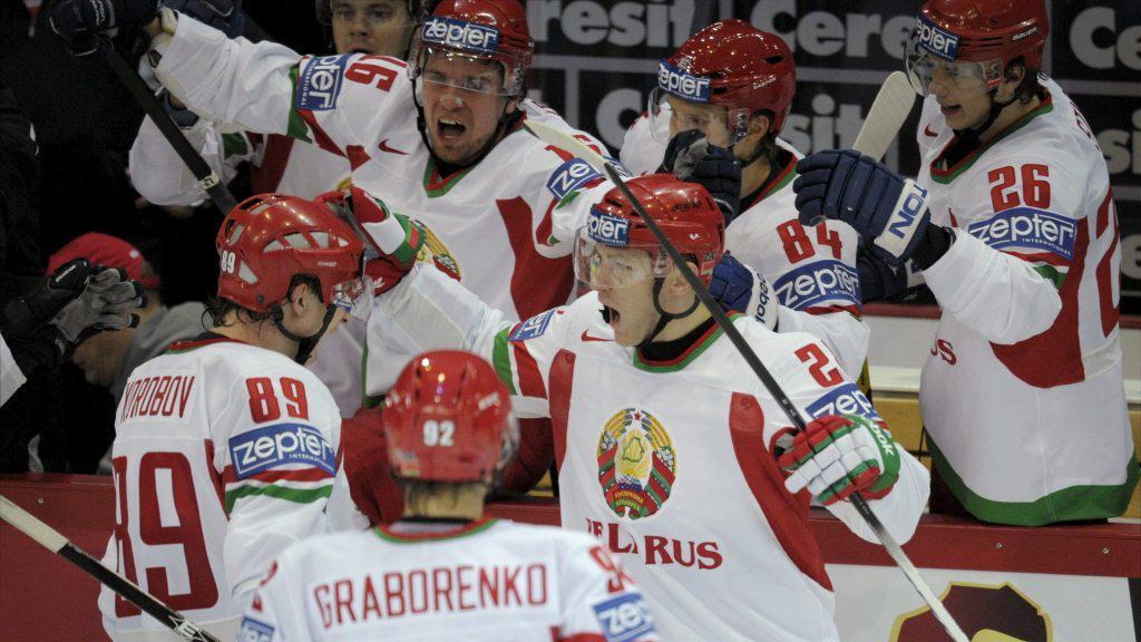 Běloruští hokejisté