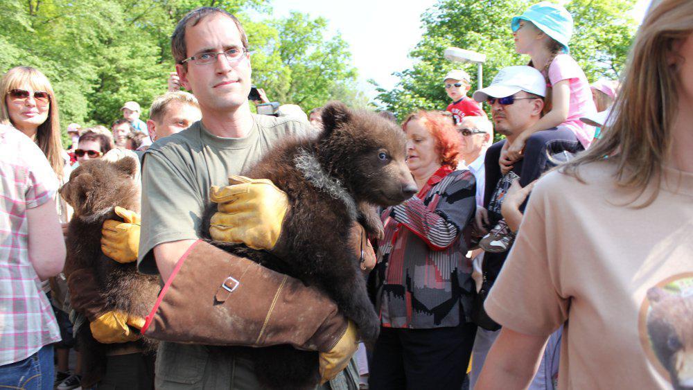 Na křest medvíďat se přišlo podívat 10 tisíc lidí