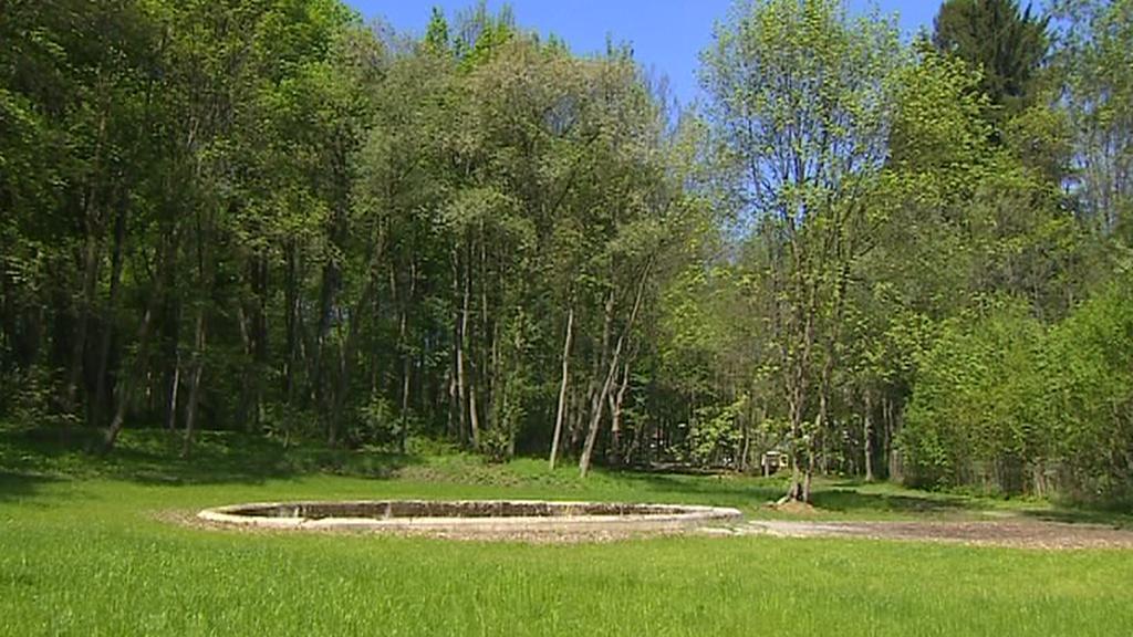 Park u Maříže na Jindřichohradecku