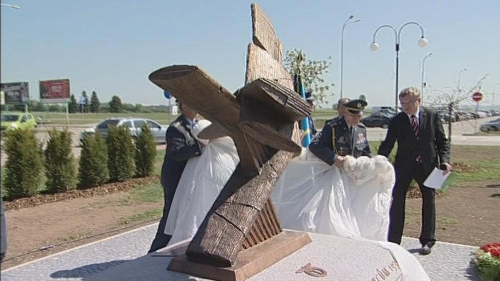 Odhalení památníku válečným letcům