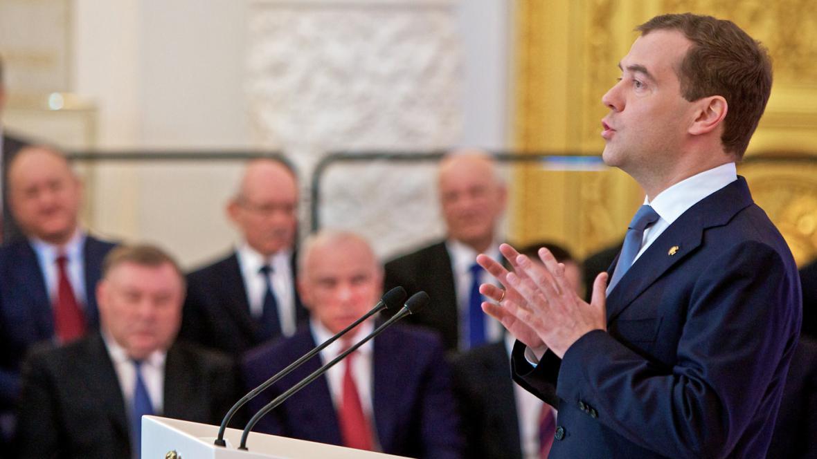 Medvěděvův projev na zasedání Státní rady