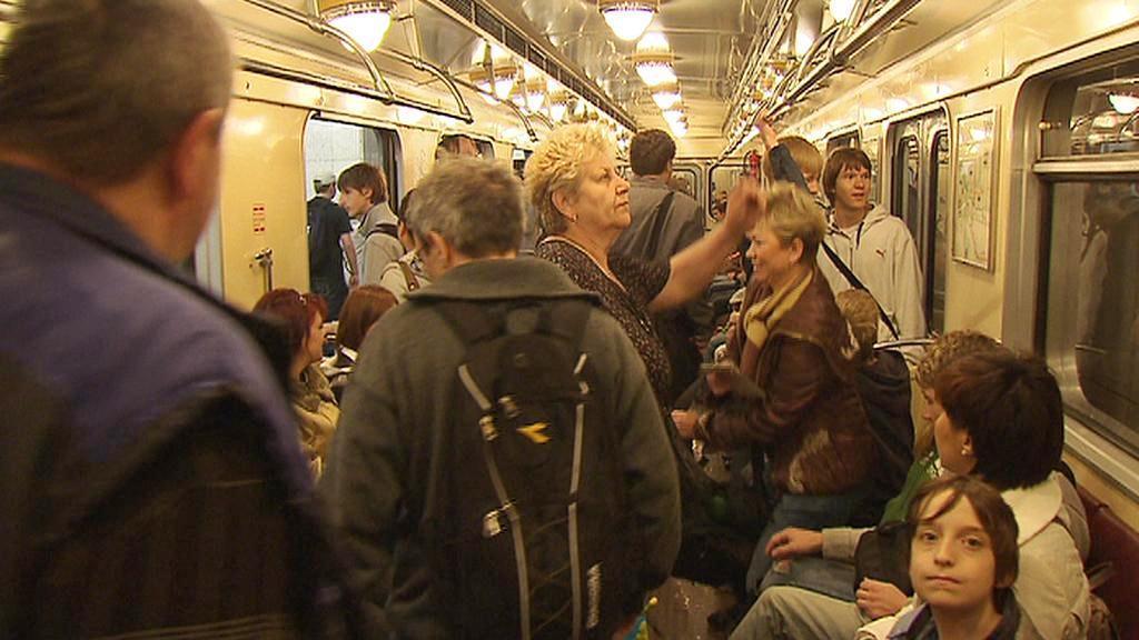 Stará souprava metra