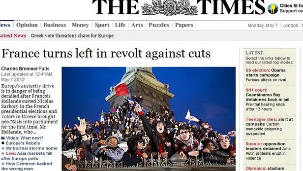 The Times o francouzských volbách