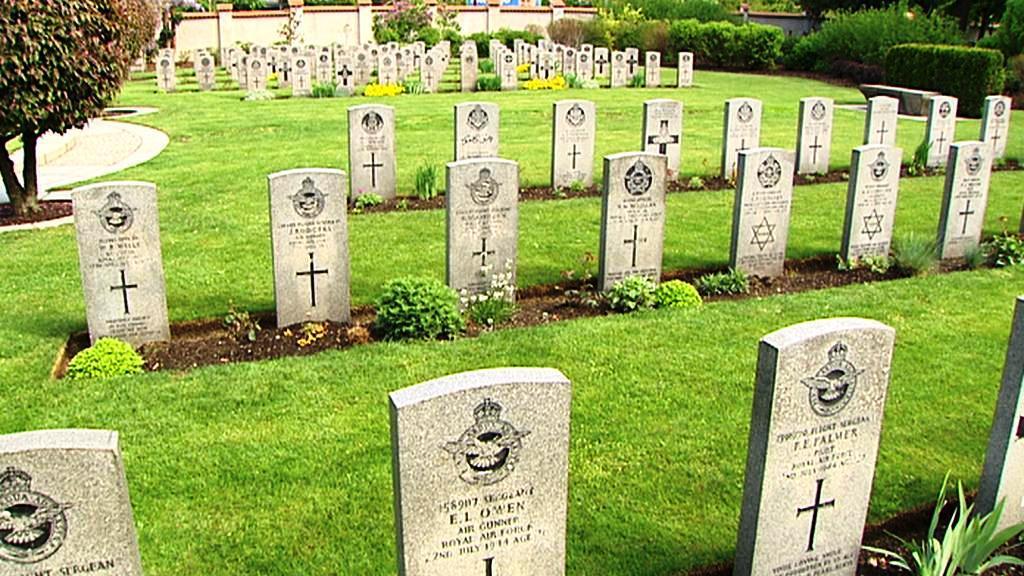 Hroby padlých vojáků