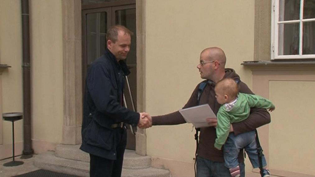 Příznivci Flédy donesli své výhrady na brněnský magistrát