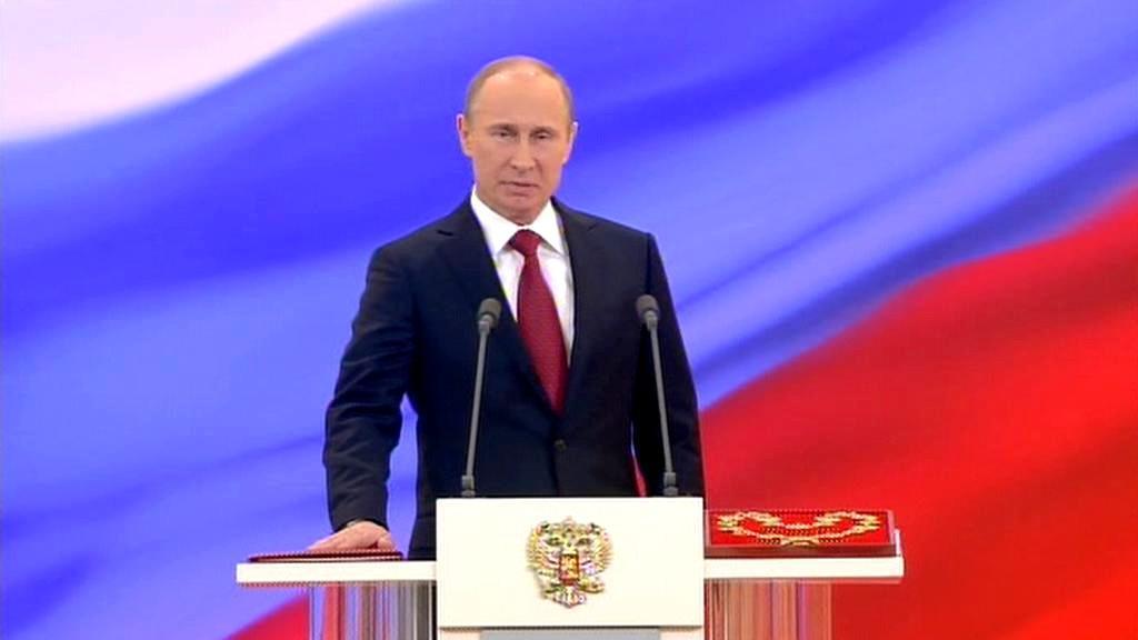 Inaugurace Vladimira Putina