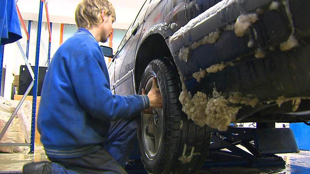 Přezouvání pneumatik