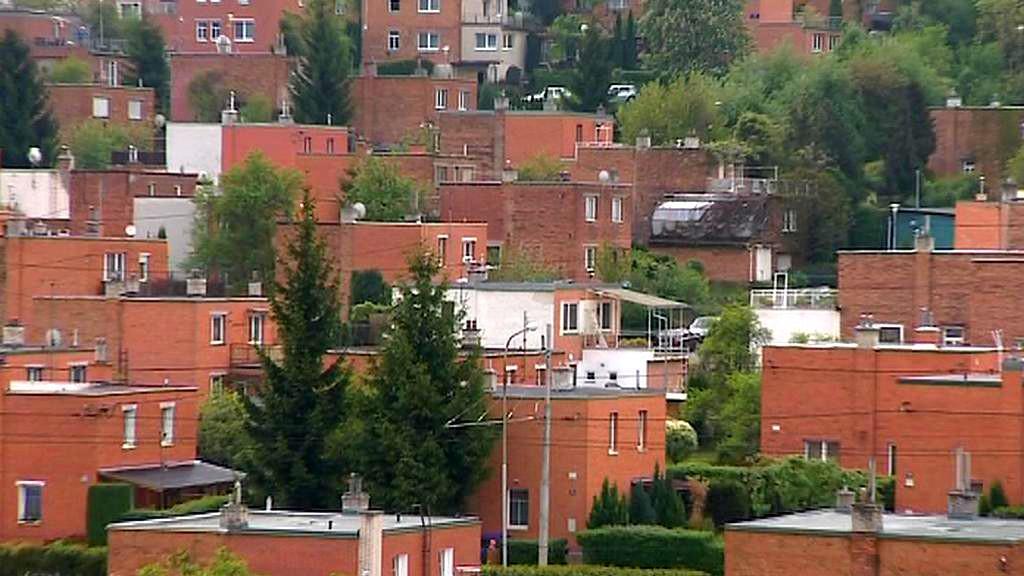 Baťovské domky ve Zlíně