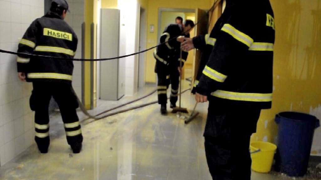 Olomouckou fakultní nemocnici zaplavila voda