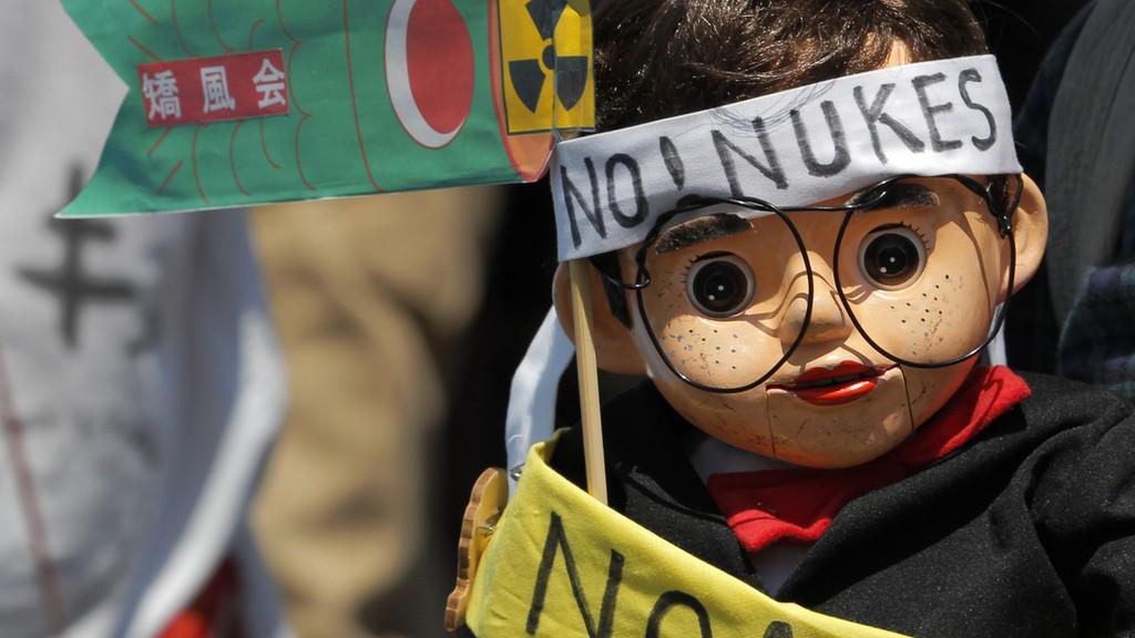 Japonská demonstrace proti jádru