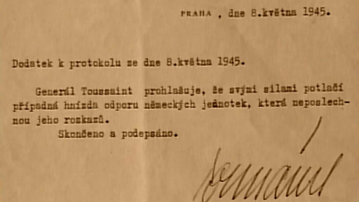 Kapitulace německých vojsk v Praze 1945