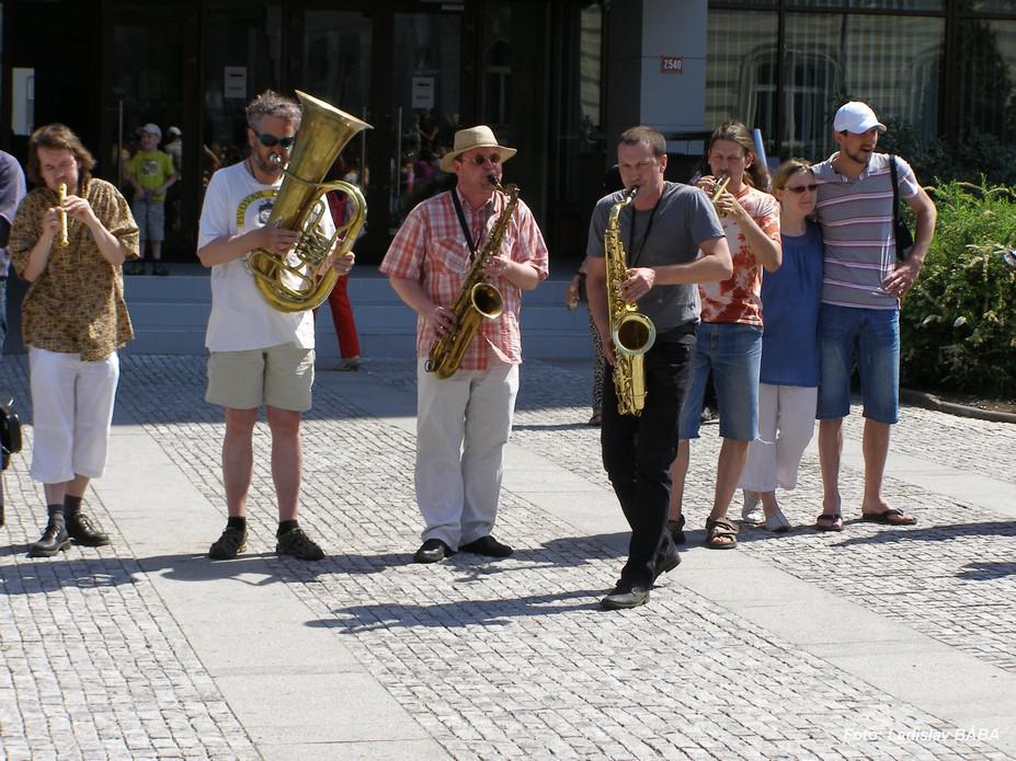 Harmonické spektrum lounské sirény