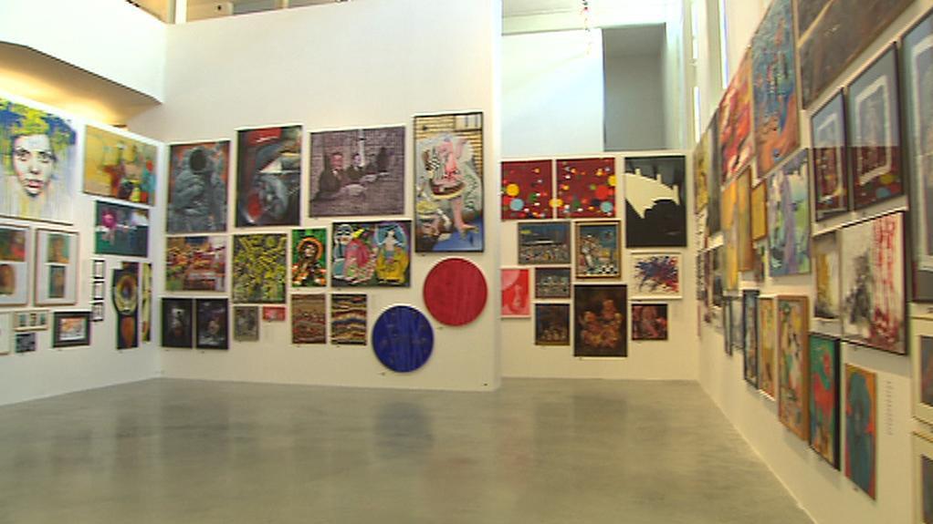 Salon umění - malba v DOX