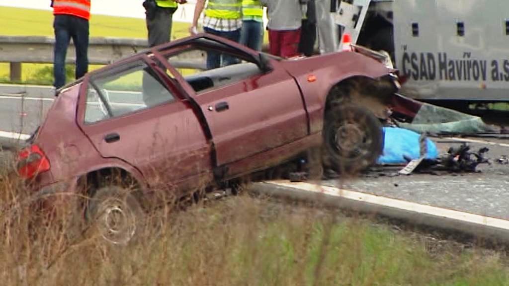 Nehoda u Ostravy