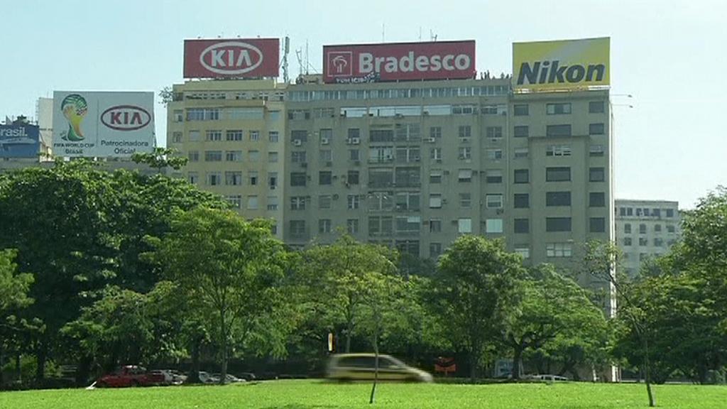 Reklamy v Rio de Janeiru