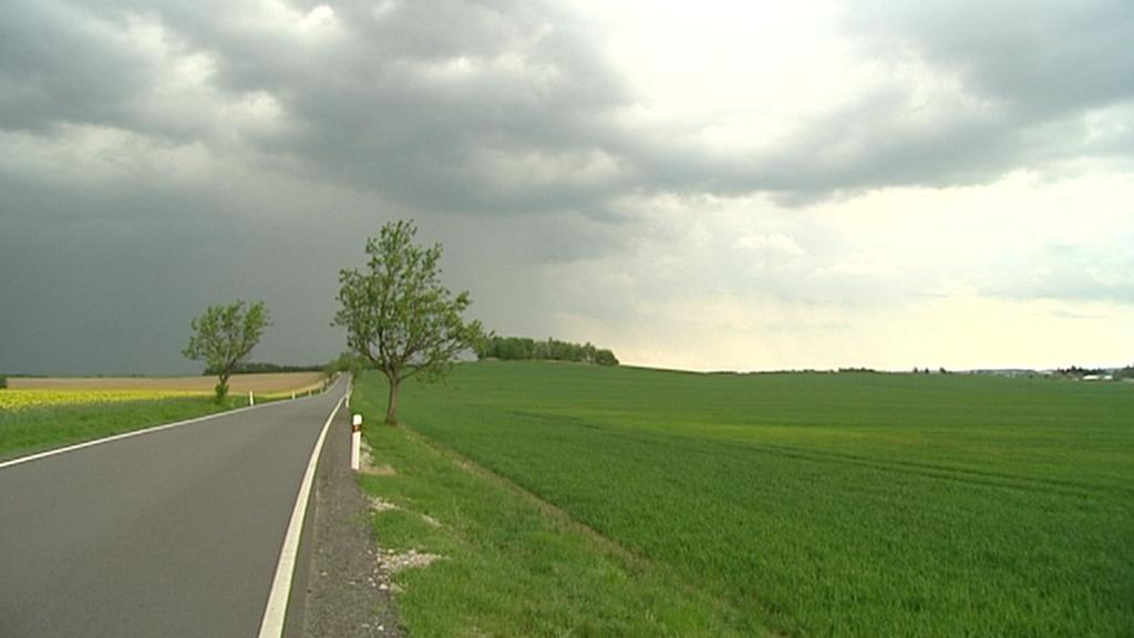 Po tropických dnech přišly do Čech bouřky