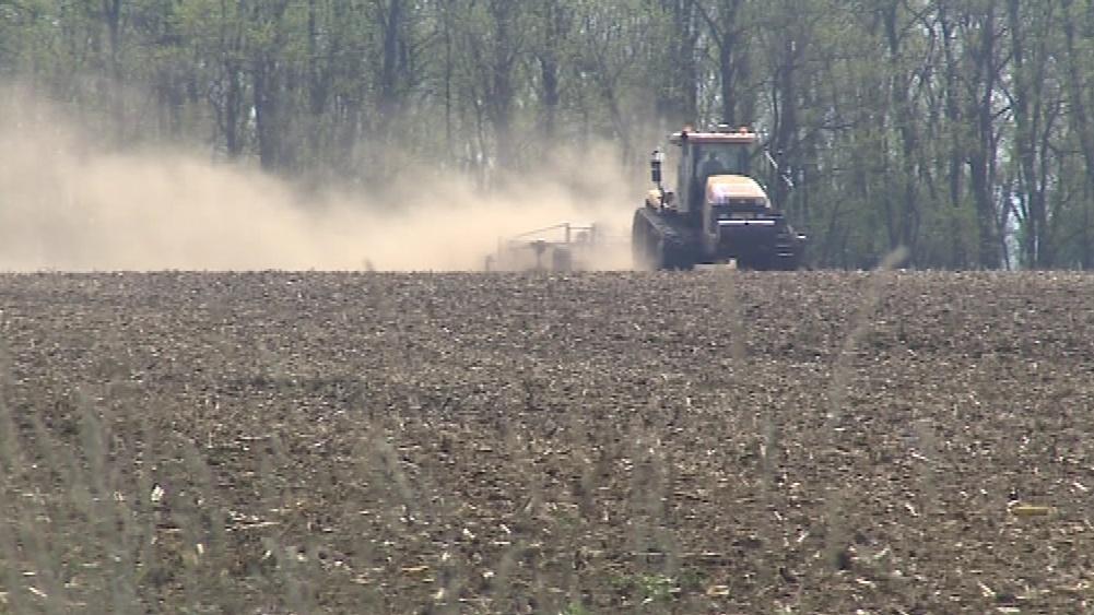 Větrná eroze ničí na Znojemsku úrodu