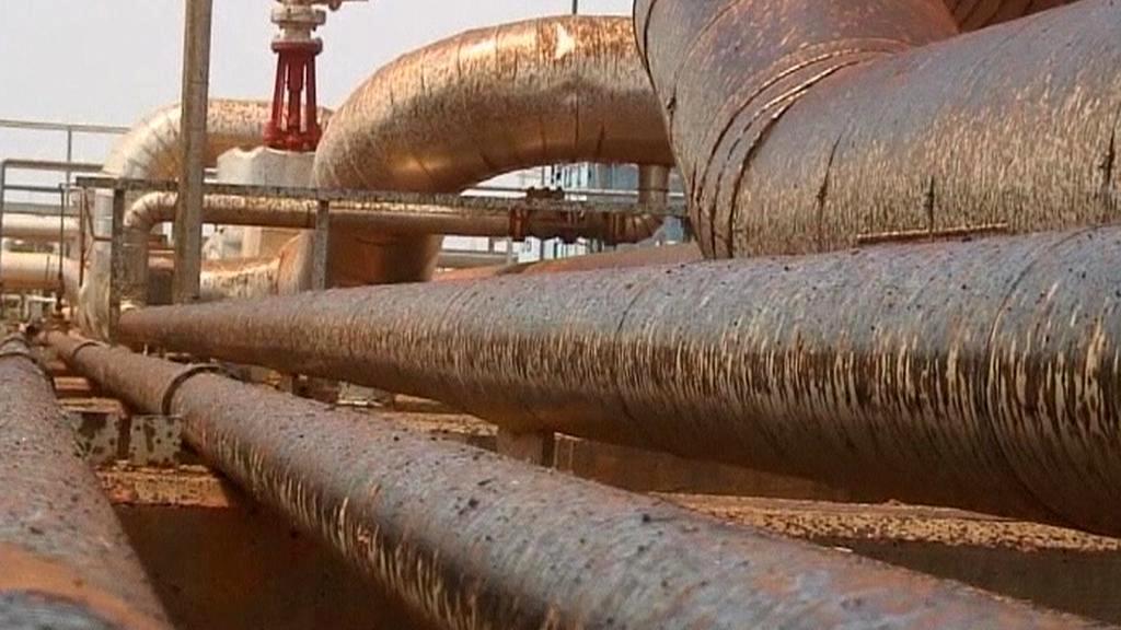 Obnovení těžby ropy v Hegligu