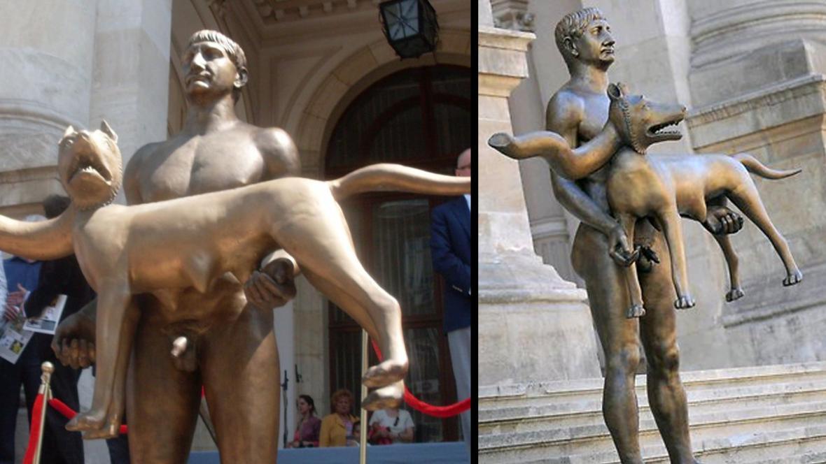 Trajánova socha v Bukurešti