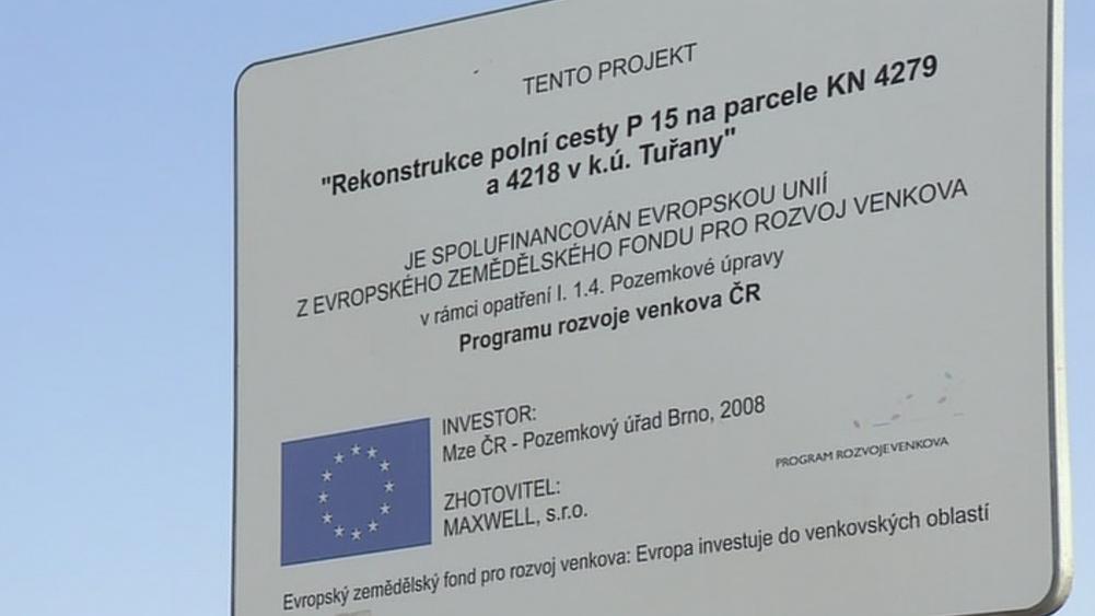 Na rekonstrukci cesty přispěla i Evropská unie