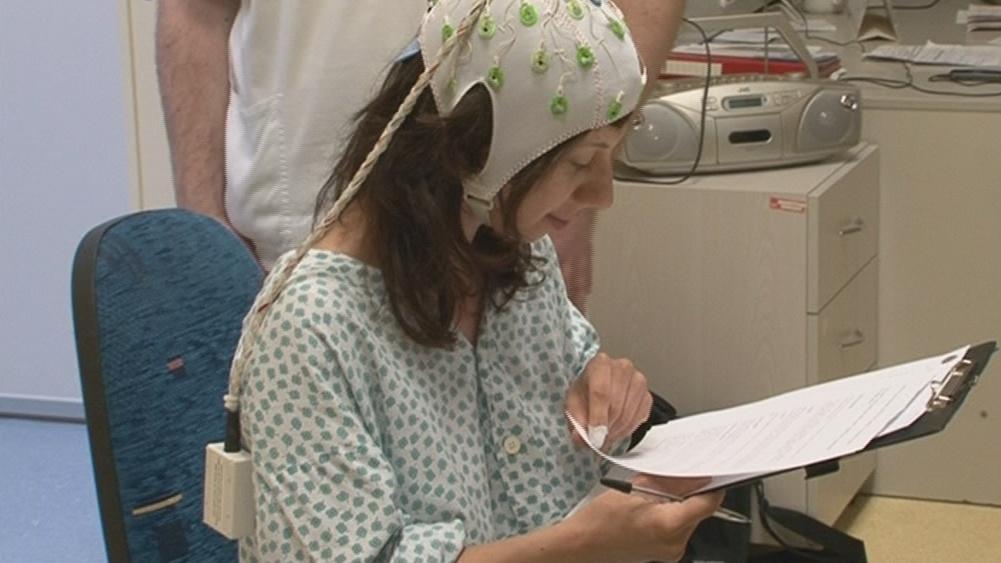 Pacientka před vyšetřením