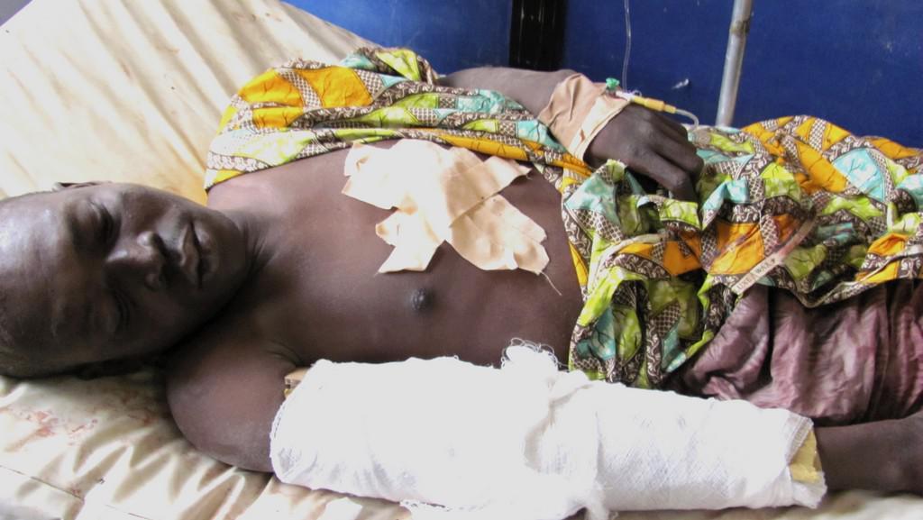 Oběť nigerijských útočníků