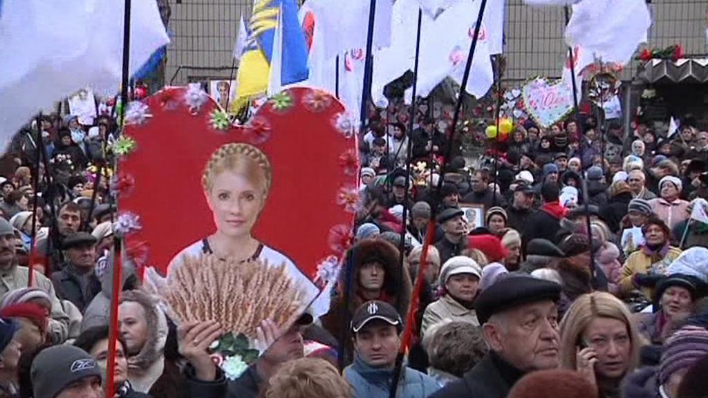 Příznivci Tymošenkové