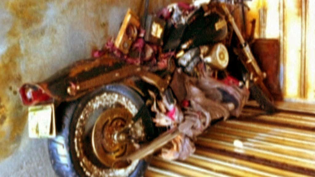 Motocykl, který doplul z Japonska do Kanady