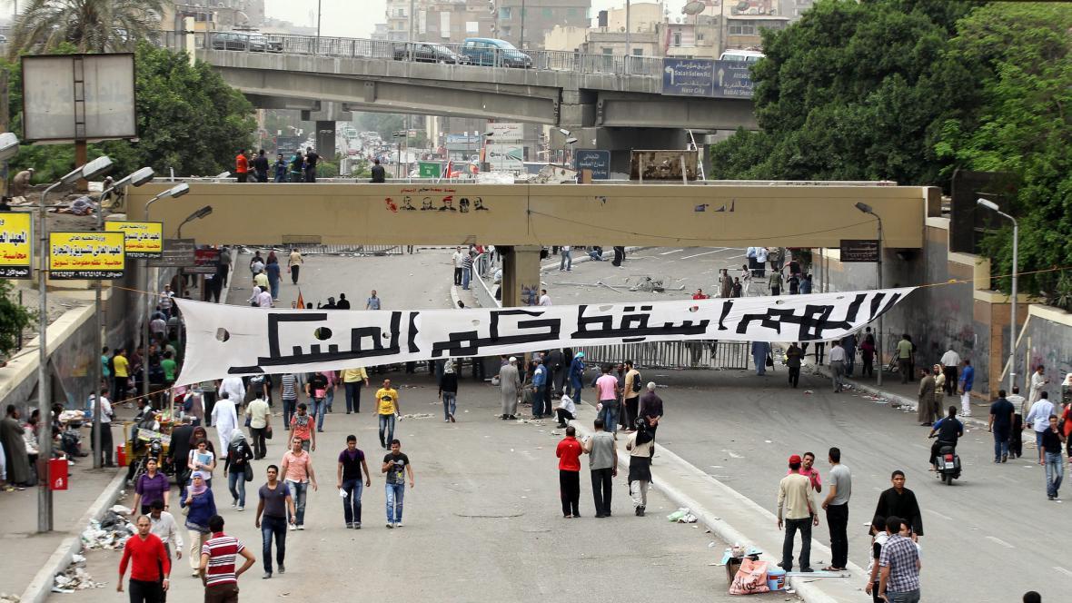 Demonstrace v Káhiře