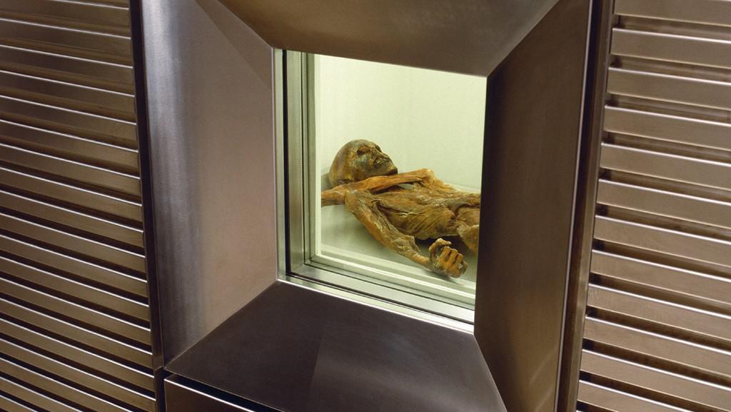 Ötzi ve své speciální