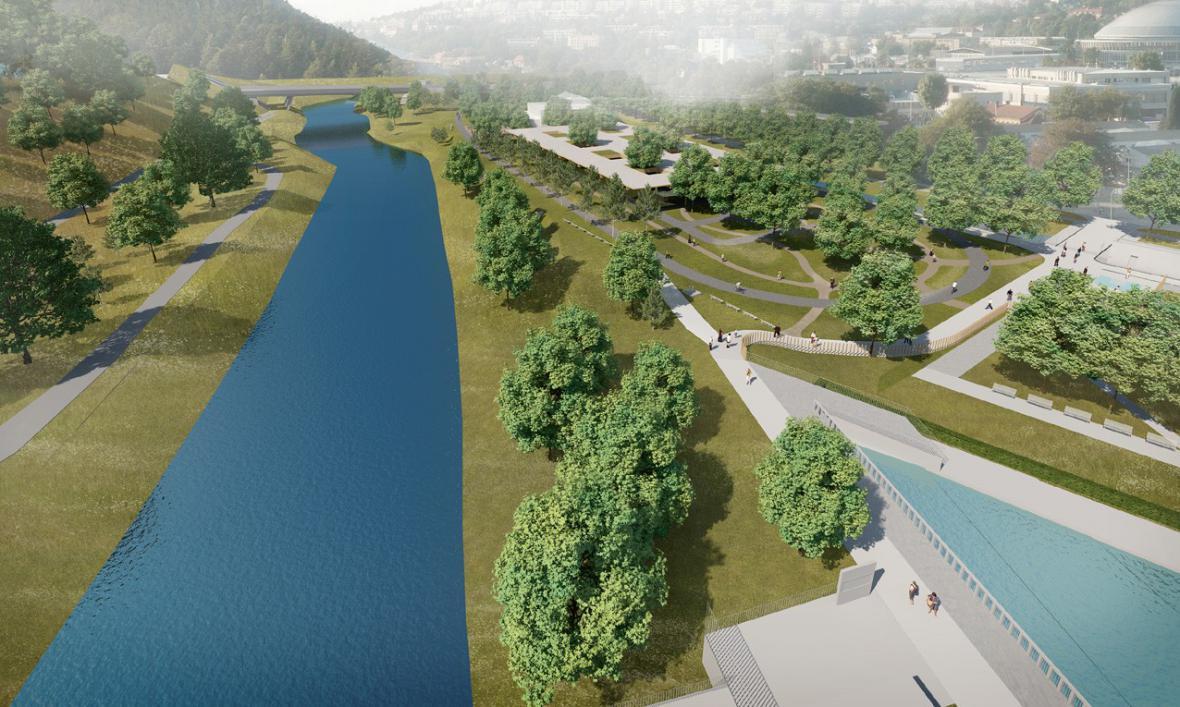Projekt dopravního hřiště na Riviéře