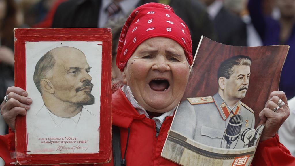Prvomájové protesty v Rusku