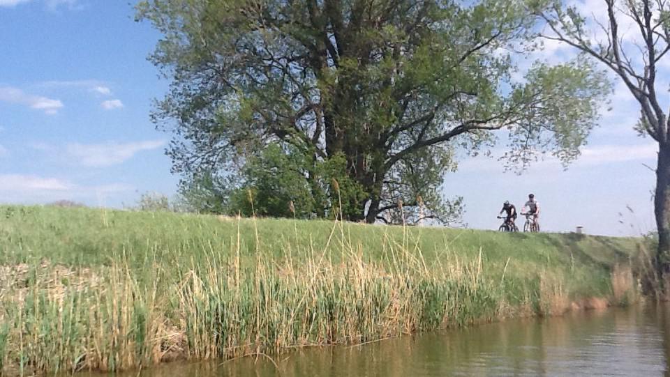 Baťův kanál láká i cyklisty