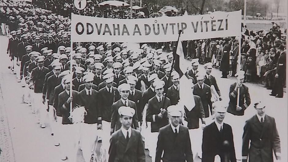 Původní oslavy ve Zlíně za baťovské éry