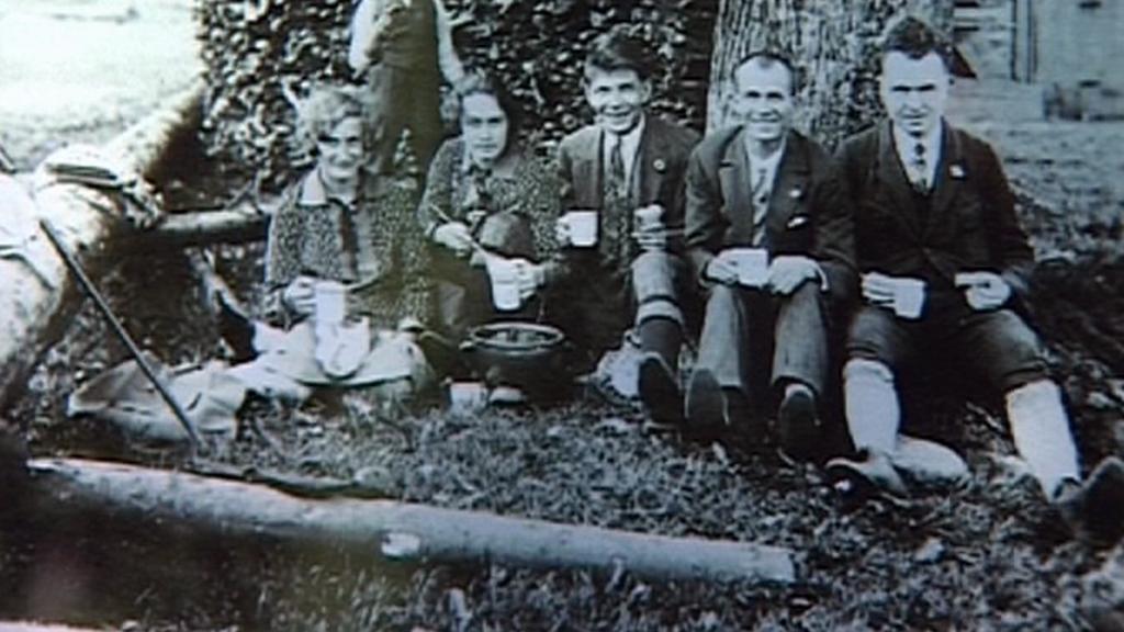 Dobové foto rodu Vařákových