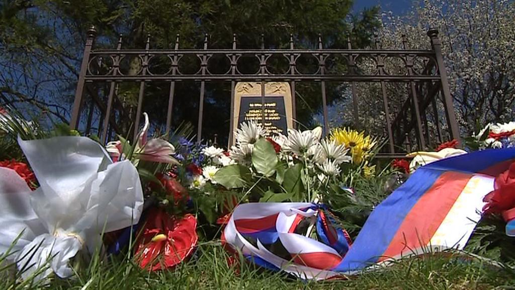 Pomník za popravené z 2. května 1945