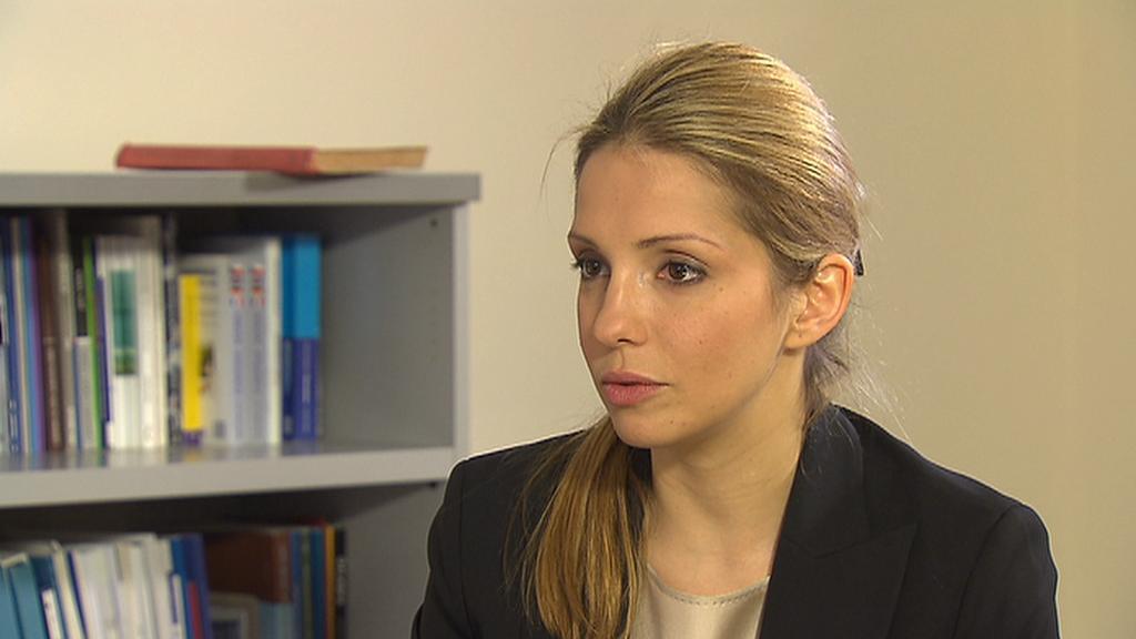 Jevgenija Carrová - dcera Julije Tymošenkové