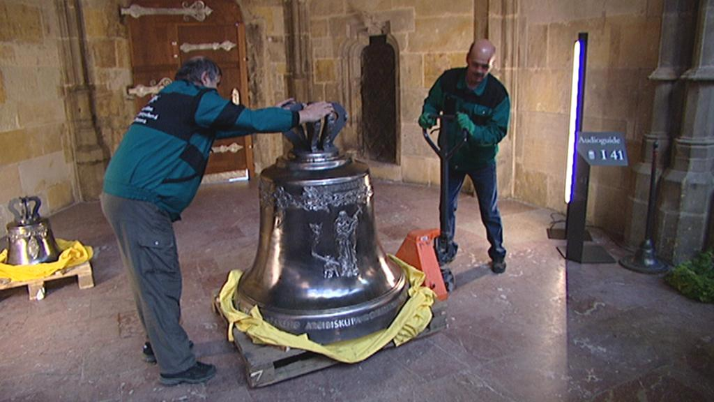 Nový zvon v katedrále sv. Víta