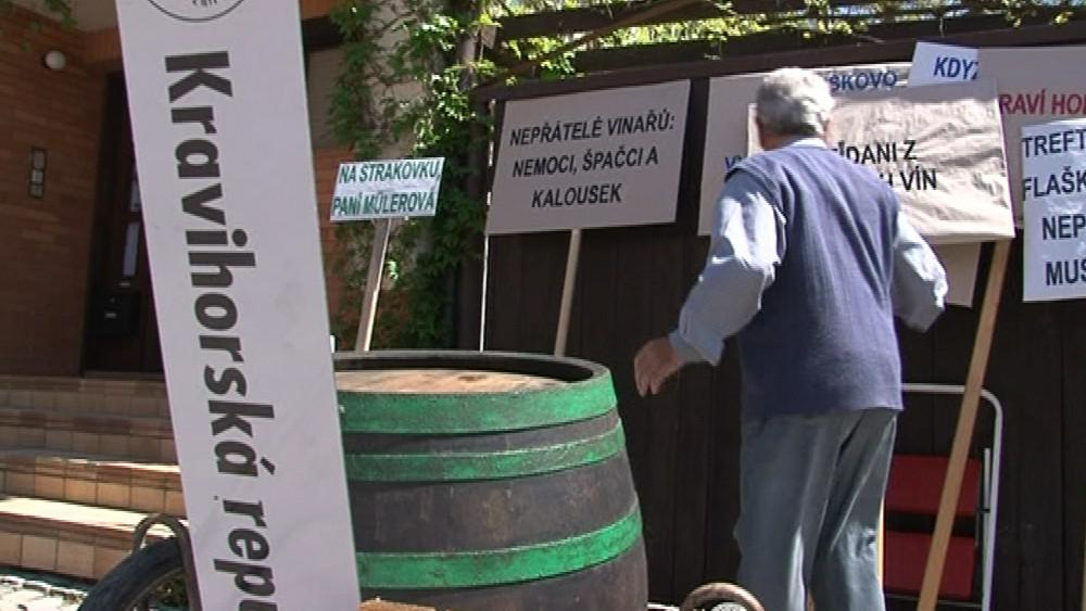 Transparenty vinařů