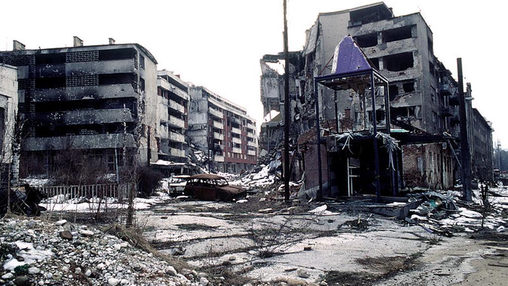 Válka v Bosně (1992-1995)