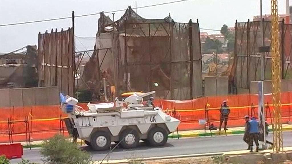 Jednotky OSN na izraelsko-libanonské hranici