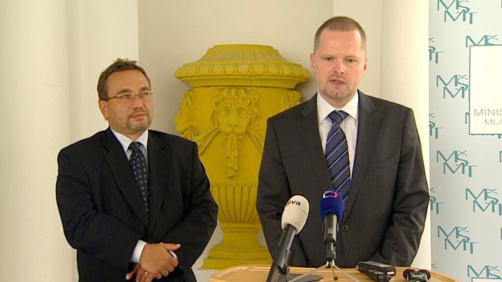 Petr Fiala a Josef Dobeš