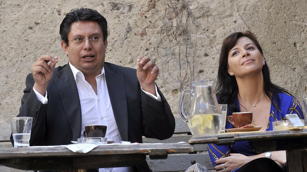Rafael Alvarez a Andrea Kalivodová