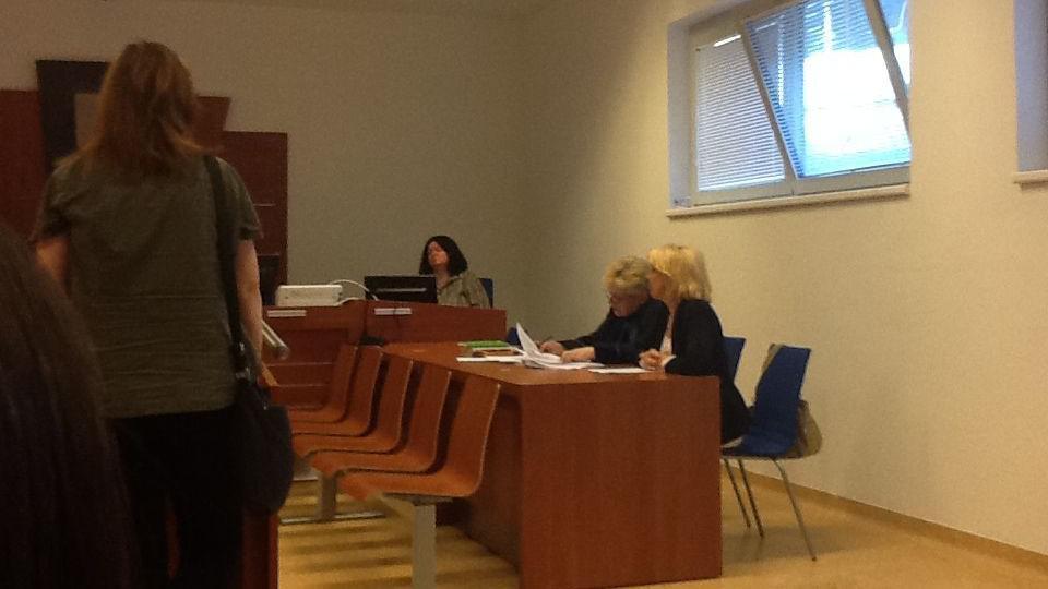 Eva Babičková před soudem